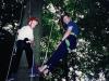Inventing \'arbreseiling\' Lodge Farm wood