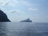 Dragonara off northern Mallorca