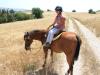 Simona, Montana in Cypriot barley fields